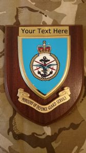 Ministry of Defence Guards MOD Personalised Military Wall Plaque